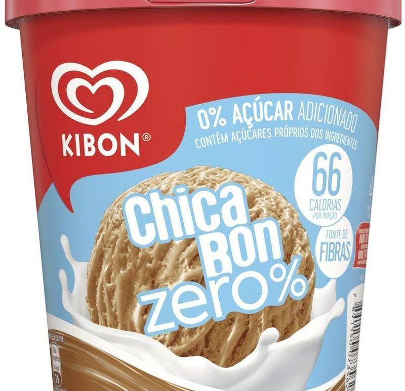 Kibon apresenta Chicabon Zero Açúcar em pote
