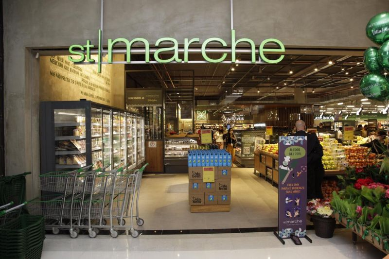 Novo St. Marche oferece área para consumo de alimentos