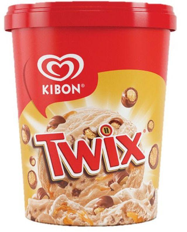 Twix é o novo sabor de sorvete de pote da Kibon