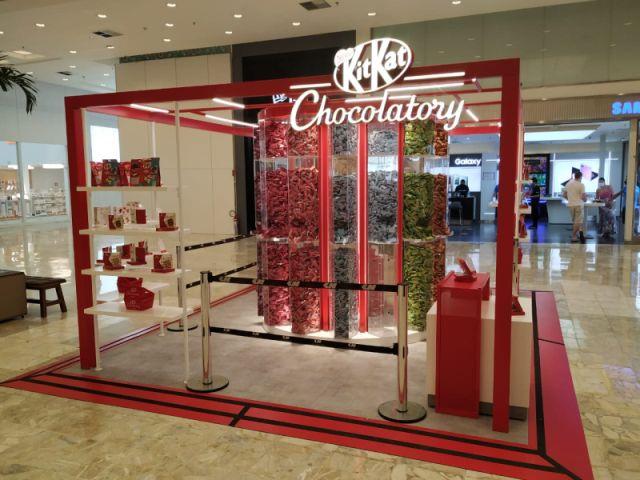 Kit Kat Chocolatory abre quiosque no Shopping Center Norte (SP)