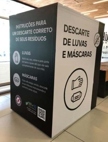 Coronavírus: Carrefour implanta coleta de descartáveis