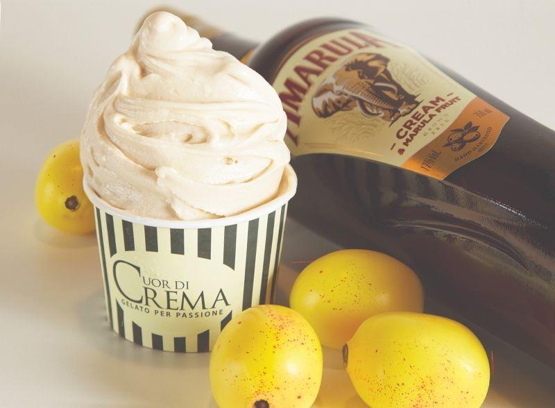 Cuor di Crema lança gelato sabor Amarula