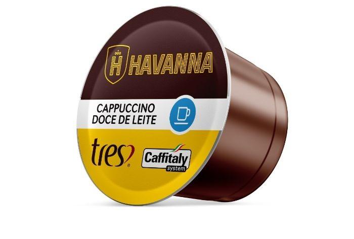 Havanna e Tres criam cápsula de cappuccino doce de leite