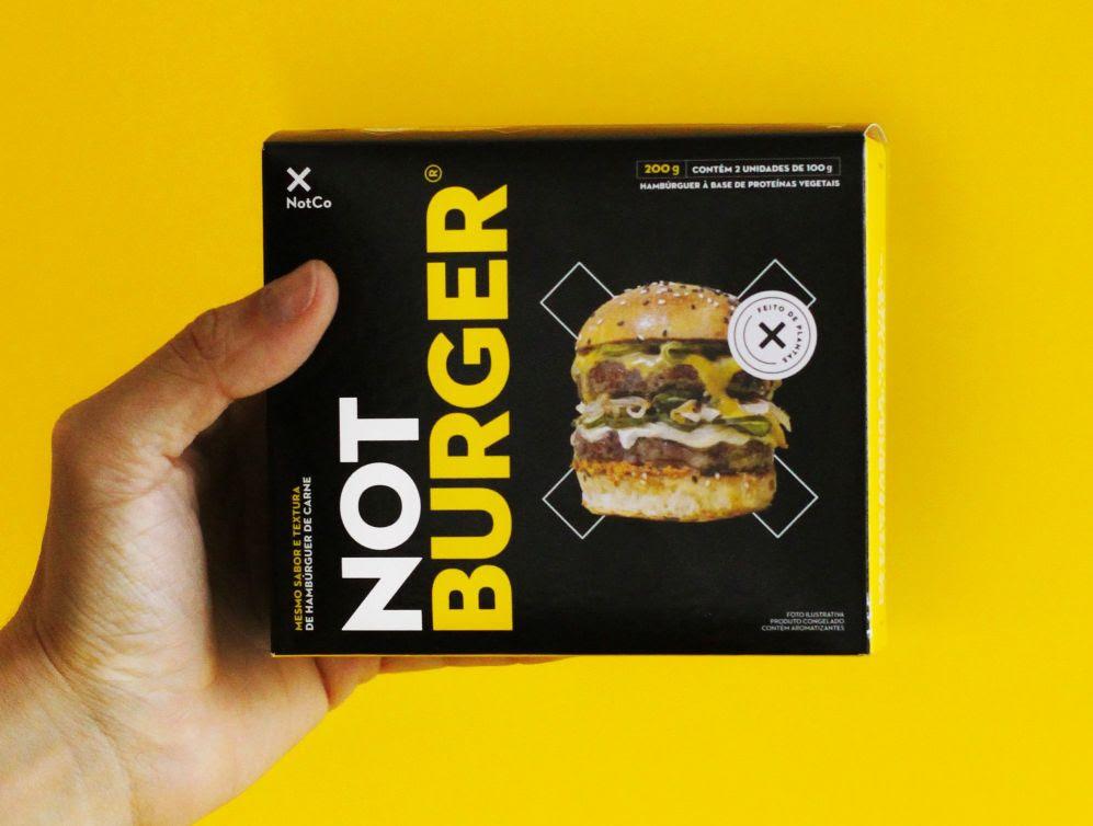 Not Co lança hambúrguer 100% a base de plantas no País