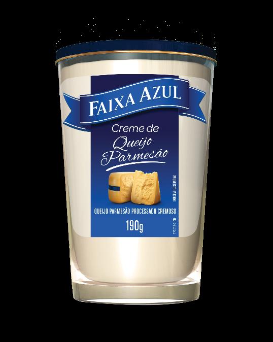 Vigor lança versão cremosa do queijo Faixa Azul