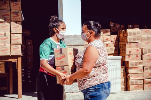 M. Dias Branco doa 329,5 ton. de alimentos em janeiro