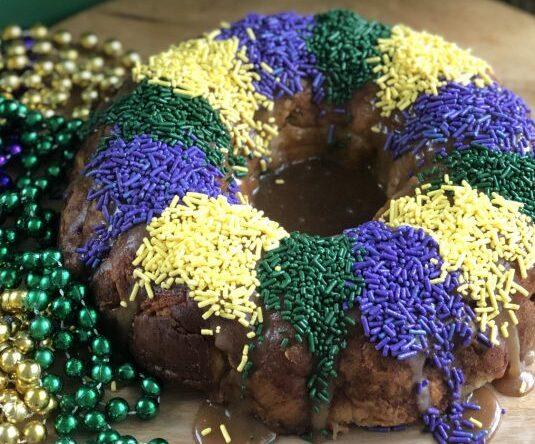 Mardi Gras de New Orleans tem bolo famoso