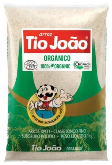 Tio João lança arroz polido orgânico