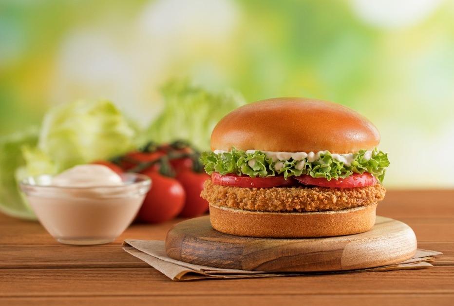 Bob´s lança hambúrguer vegetal de frango