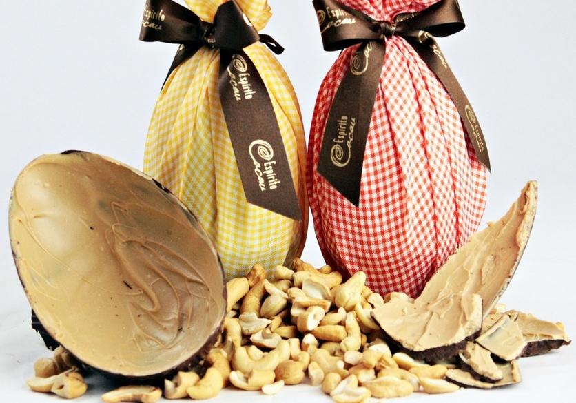 Espírito Cacau aposta em ovo de Páscoa com leite de coco