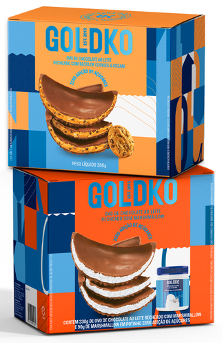 Goldko reapresenta sabor de marshmallow na Páscoa