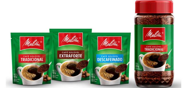 Melitta troca embalagem de café no Sul e em SP